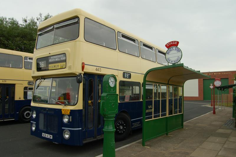 VISIT WYTHALL BUS MUSEUM