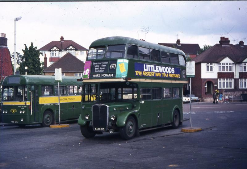A TOUR OF LONDON TRANSPORT AND LONDON COUNTRY BUSES AND COACHES SINCE THE 1970 SPLIT