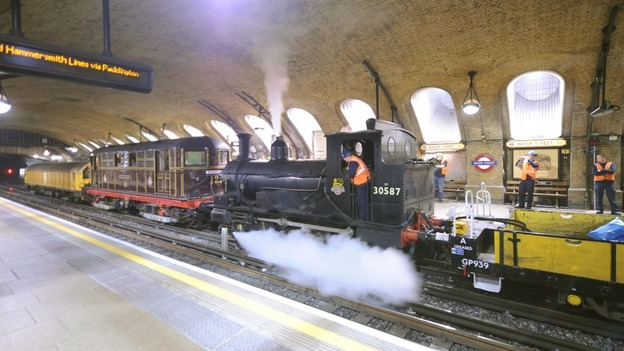 ANNUAL MEMBERS' MEETING followed by OPERATING HERITAGE TRAINS ON THE UNDERGROUND
