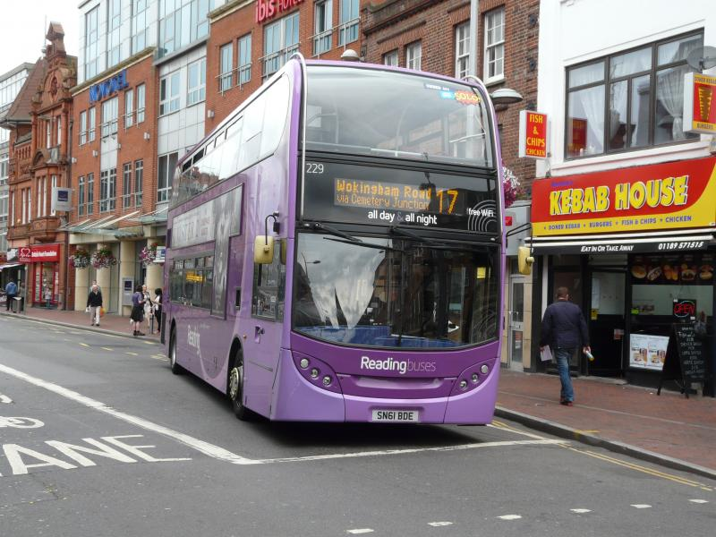 VISIT TO READING BUSES