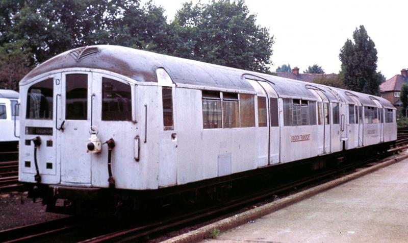 100 YEARS OF TUBE TRAINS