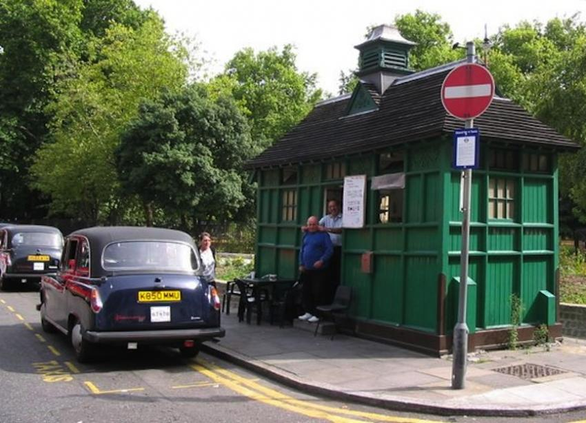 Russell Square shelter