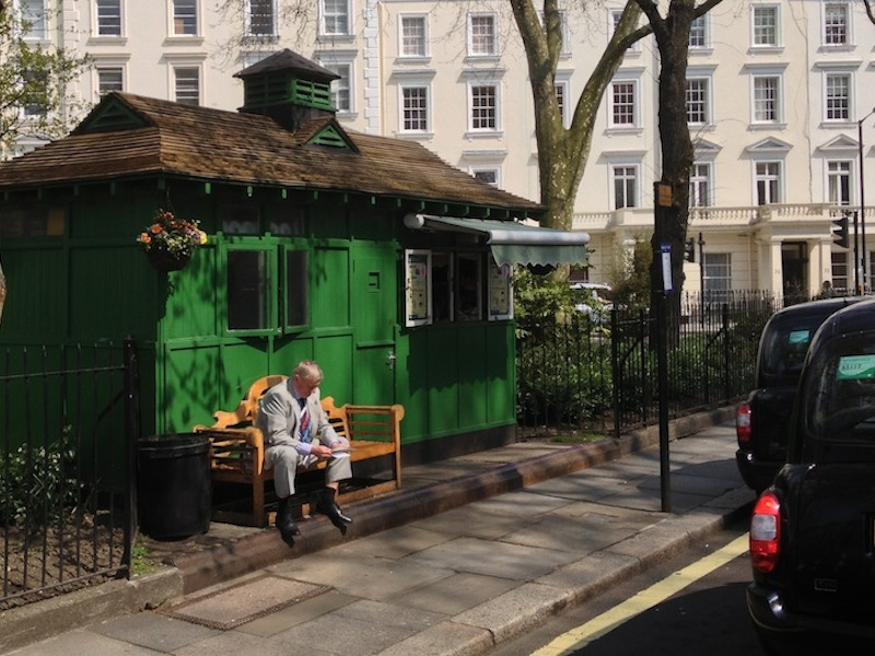 St Georges Square, Pimlico shelter