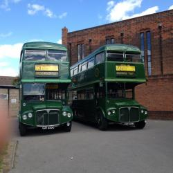 ROUTEMASTER COACH CELEBRATES 60 YEARS
