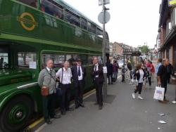 FRIENDS OPERATE HERITAGE BUS AT AMERSHAM