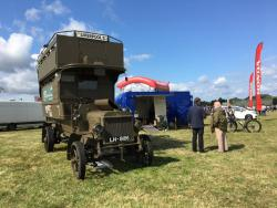 BATTLE BUS AT BIGGIN HILL