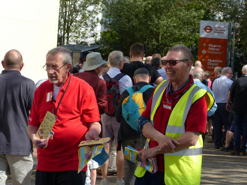 FRIENDS SUPPORT SUCCESSFUL DEPOT OPEN WEEKEND