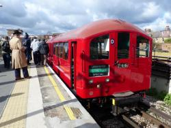 UPMINSTER BY 1938 TUBE TRAIN
