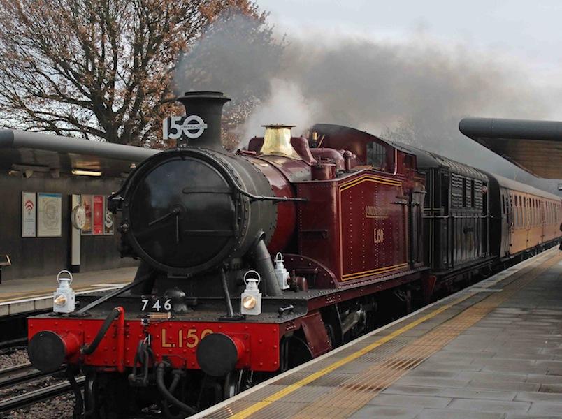 Last steam run for 150th