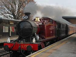 Last steam run for 150th