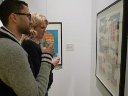 Illustration exhibition opens