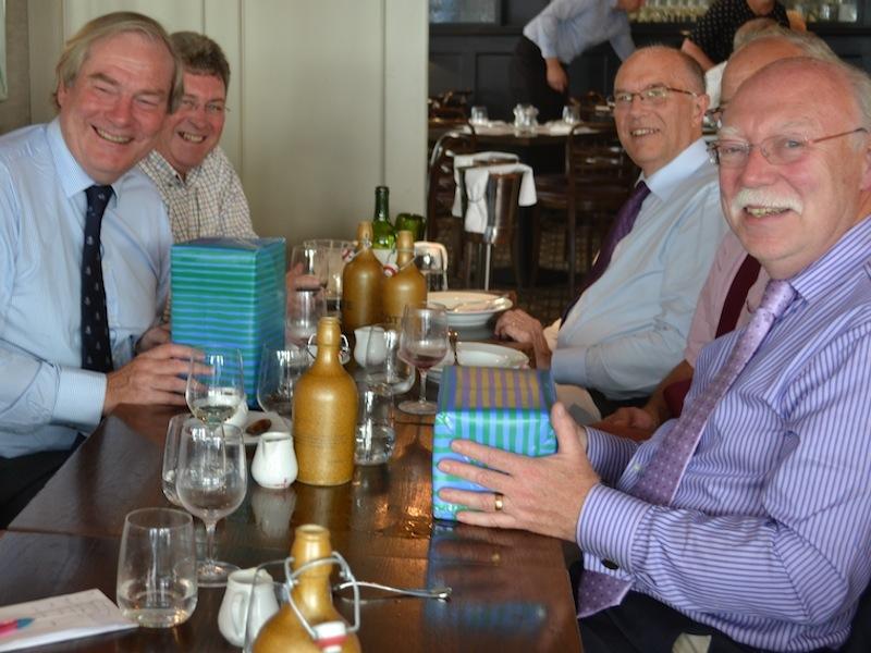 Friends trustees retire