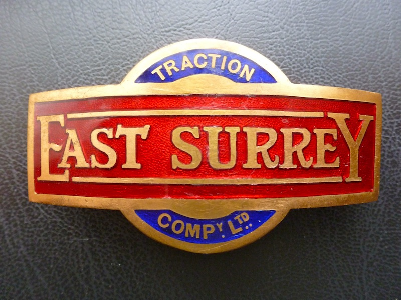 East Surrey cap badge